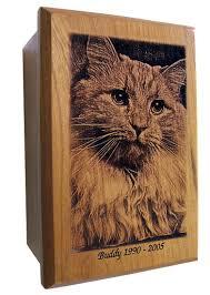 pet urns for cats laser engraved custom pet urns