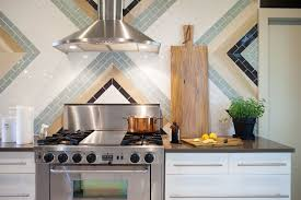 Modern Backsplash Kitchen Colorful And Modern Kitchen Backsplash Ideas