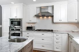 frameless shaker style kitchen cabinets custom built shaker cabinets sea girt new jersey by design