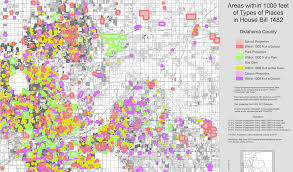 Map Of Oklahoma Counties Editorial District Attorneys Push Hb 1482 With Poor Logic Nondoc