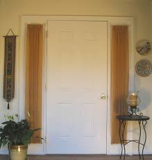 Beautiful Front Doors Beautiful Entry Door Sidelight Curtains For White Wooden Front