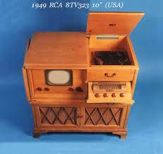 rca victor tv cabinet value 1946 49 rca usa
