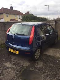 fiat punto blue 2003 53 plate 4 doors in fishponds bristol