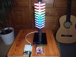 mood lamp with a digital rgb led strip ws2811 ws2812 an arduino