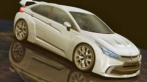 mitsubishi lancer evo 2018 legendary generation lancer evolution will present in 2016