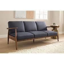 Orange Sleeper Sofa Bedroom Furniture Sets Orange Mid Century Sofa Mid Century