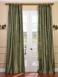 Silk Plaid Drapes Dynasty Silk Taffeta Plaid Curtain 189 00 Red Yellow Tan