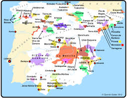 Map Of New Spain by Spain U0027s Wild Frontier Quentin Sadler U0027s Wine Page