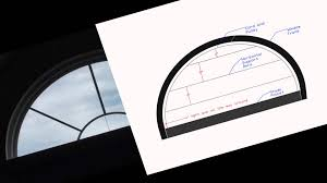 sunrise arched bottom up roller shade youtube