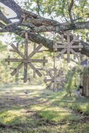 diy snowflake yard decoration dremel tool wooden fences and