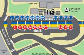 pentagon map pentagon metro station