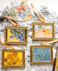gogh ornament paintings vase with irises tableware and home