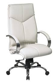 Desk Chairs Modern by Cozy White Leather Office Chairs Tsrieb Com