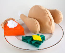 thanksgiving toys thanksgiving dinner felt toys turkey toys clothing and
