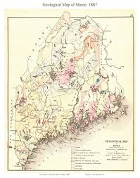 Washington State Geologic Map by Old Maps Of Maine Small State Maps