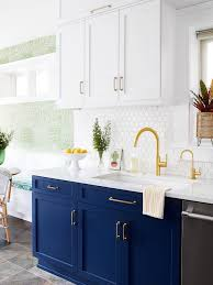 blue modern kitchen cabinets 75 beautiful contemporary blue kitchen pictures ideas