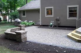 Block Patio Designs Paver Patios Columbus Ohio Brick Pavers Patios Patio Designs