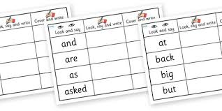 high frequency words writing practice worksheets sight words