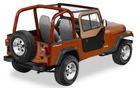 jeep usa 1997 2006 jeep wrangler bestop upper door sliders bestop 51787 15
