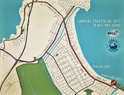 Lan Route Map by Jamba Juice Lanikai Triathlon U2013 Boca Hawaii