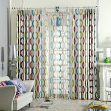 Yellow And Blue Curtains Yellow Patterned Curtains Teawing Co