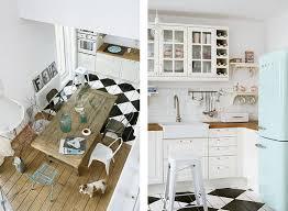 carrelage cuisine damier noir et blanc beau carrelage cuisine damier noir et blanc 3 un air de bord de