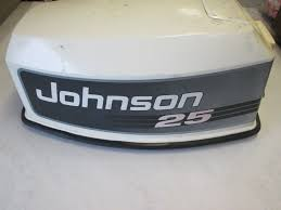 0435152 435152 johnson 25hp top engine cover 1992 1996 green bay