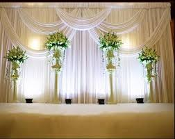 marriage decoration 3 6m wedding party stage celebration background satin curtain