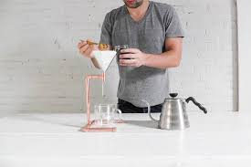 how to make a pour over coffee maker out of copper pipe brit co