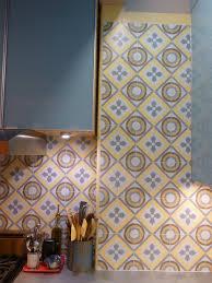 Avente Tile Talk March 2012 Avente Tile Talk A Cement Tile Kitchen Backsplash Makes A Chelsea