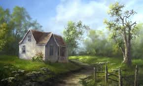 Small Country House Oil Painting Small Country House U2013 Paint With Kevin Hill Diy Fyi