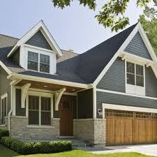 blue house white trim grey houses with white trim chicago home gray siding blue siding