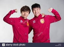 Ren Hang Photos Portrait Of Chinese Soccer Players Yin Hongbo Left And Ren Hang
