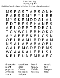 fourth of july coloring pages fourth of july word search i