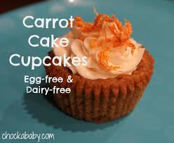 allergy friendly friday vegan carrot cake cupcakes chockababy