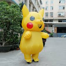 skull kid halloween costume aliexpress com buy inflatable pikachu cosplay carnaval