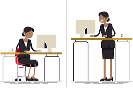 Standing At Your Desk Vs Sitting Benefits Of Standing At Work Are Unclear The Boston Globe