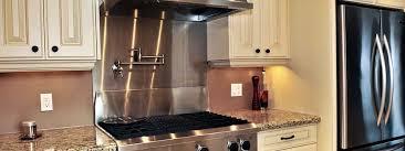 stainless steel backsplashes for kitchens amazing plain stainless steel backsplash with shelf stainless