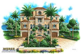 mediterranean house plan mediterranean house plan great for narrow lot with