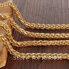 mens byzantine necklace gold images Byzantine necklace yellow gold filled mens chain necklace solid jpg