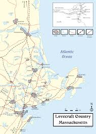 Massachusetts Town Map by Lovecraft Country Wikipedia