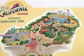 map of california adventure disney california adventure layout map in 2000 a photo on flickriver