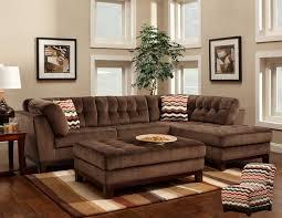 gorgeous brown sectional sofa with poundex katja f7616 brown