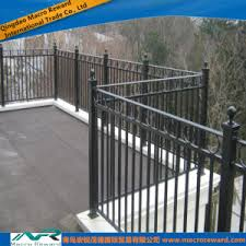 china outdoor metal steel guardrail handrail balcony railing