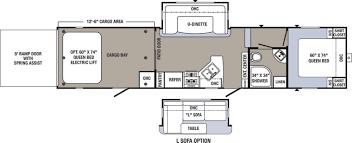 Puma 5th Wheel Floor Plans by Puma Toy Hauler Floor Plans U2013 Gurus Floor