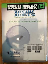 financial u0026 managerial accounting for decision makers thomas r