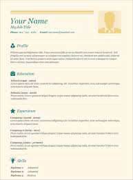 easy resume templates easy resume template fascinating easy resume template