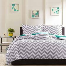 Turquoise Chevron Bedding Grey Chevron Bedding Queen Home Design Ideas