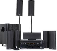 onkyo home theater onkyo ht s7100 black home theater audio system with 1080p hdmi