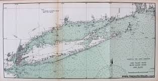 Map Of Long Island New York by Long Island Sound Block Island Sound Long Island Sold